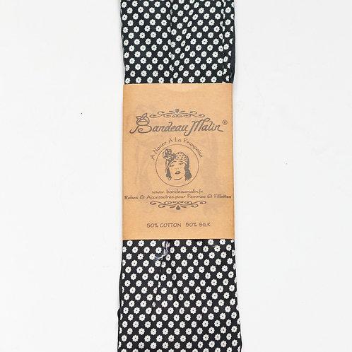 bandeau cheveux pour femme avec fil de fer à motif fleuri