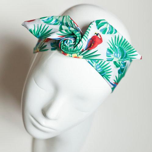 bandeau malin fil de fer motif tropical