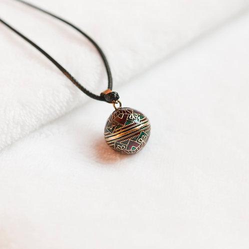 Bola de grossesse long collier original et élégant pendentif carillon pour femme enceinte