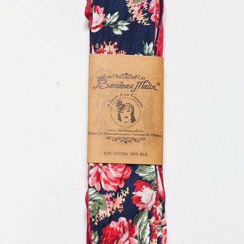 bandeau cheveux femme à fleurs