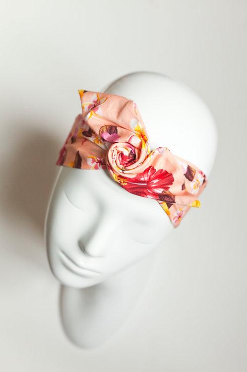 bandeau malin fil de fer motif fleuri