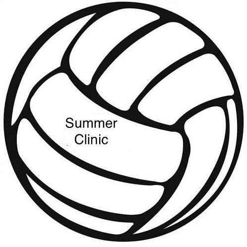 Summer Beach VB Clinic