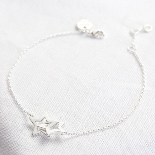 Interlocking Star Bracelet