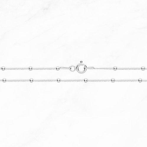 Silver Fine Bead Chain