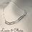 Thumbnail: Silver Paper Clip Bracelet