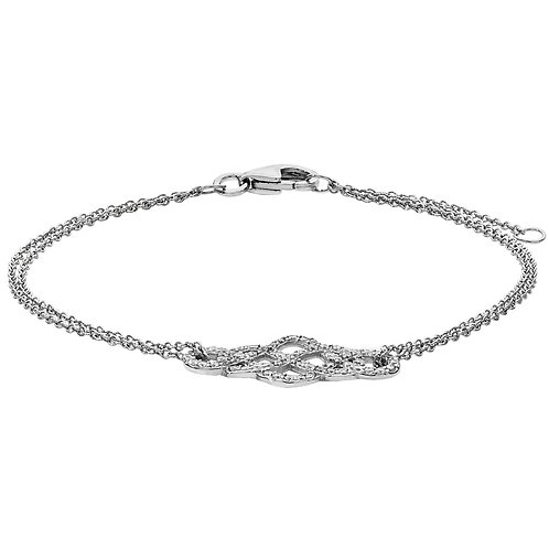 CZ Motif Bracelet