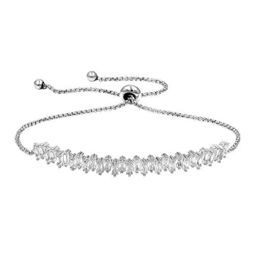 CZ Baguette Bracelet