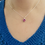 Thumbnail: Swarovski Rose Heart Pendant & Chain
