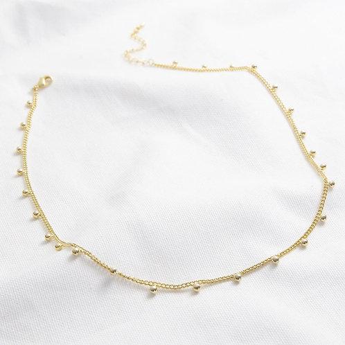 18CT Gold Bobble Chain