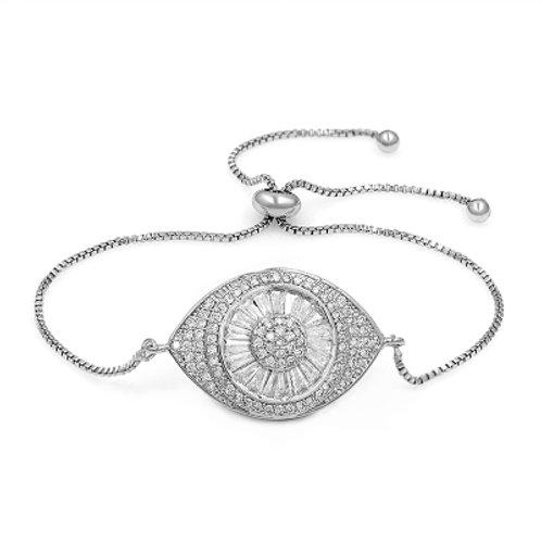 CZ Evil Eye Bracelet