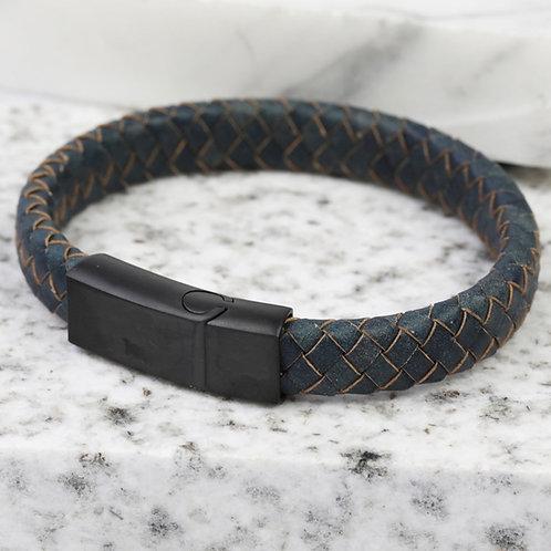 Men's Antique Blue Bracelet