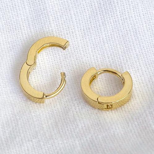 Small Huggie Hoop Earrings