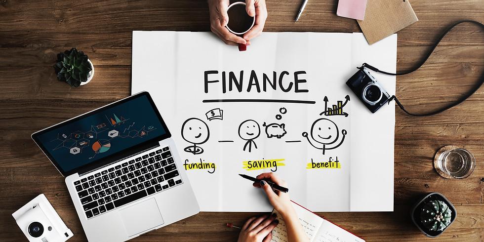 Mentoring in Financial Literacy-with mentor Anna Miranda & TSIC staff Carrie Garcia