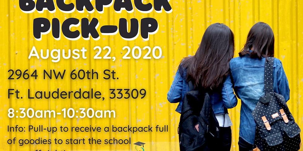 Backpack Pickup!