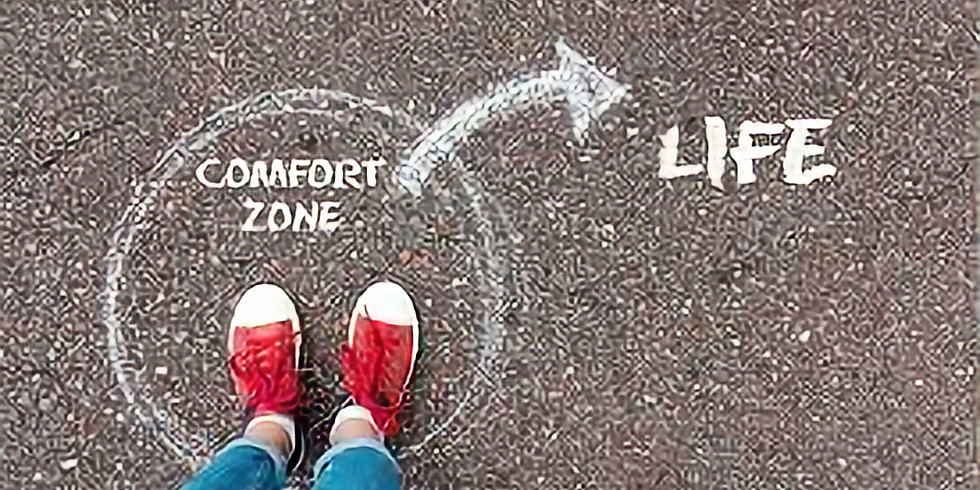 """Mentoring in """"Getting Out of Your Comfort Zone"""" with Jesse Knight and Raquel Martinez (1)"""