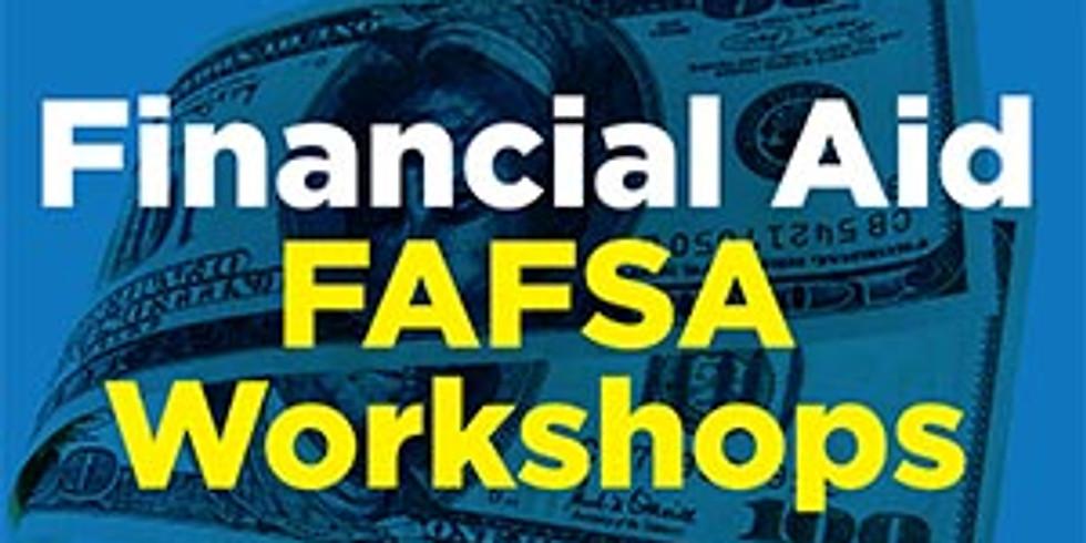 SENIOR WORKSHOP: Financial Aid (FAFSA) and Scholarship Workshop