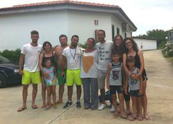 foto con ospiti