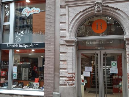 "Librairie ""La Femme Renard"" à Montauban"
