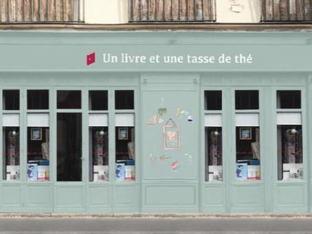 Librairie Un livre et une tasse de thé à Paris