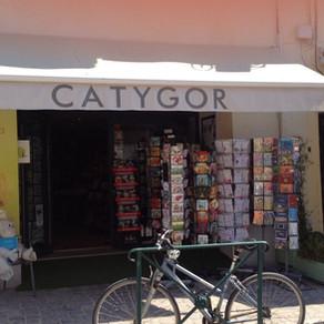 """Librairie """"Catygor"""" à Aigues Mortes"""