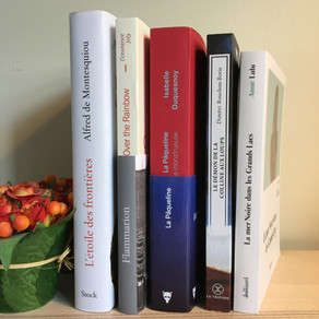 Soirée spéciale avec les cinq finalistes du Prix Orange du livre 2021