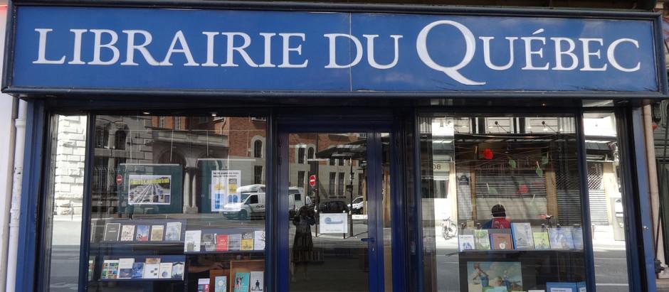 Librairie du Québec à Paris 5e