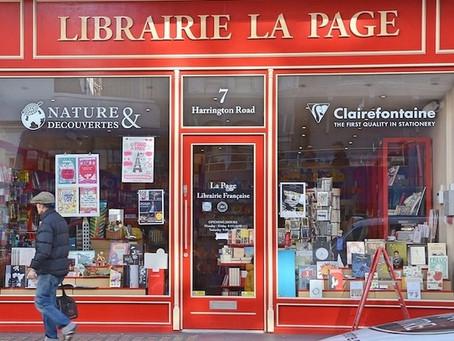 """Librairie """"La Page"""" à Londres"""