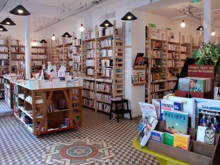 """Librairie """"Le pied à terre"""" à Paris 18e"""