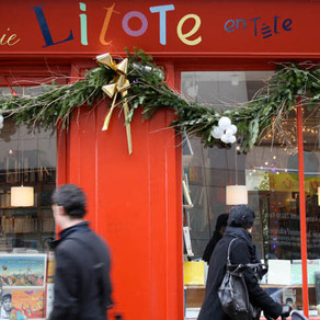 """Librairie """"Litote en tête"""" à Paris 10e"""