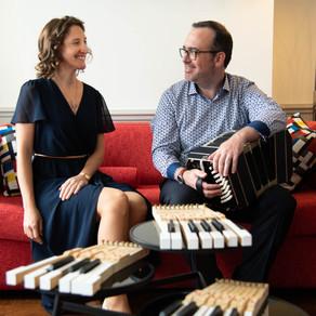 Soirée Centenaire Astor Piazzolla avec le Duo Intermezzo et les Éditions Parole