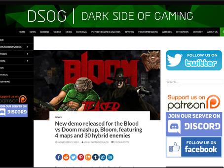 BlooM in DSOG   Dark Side of Gaming