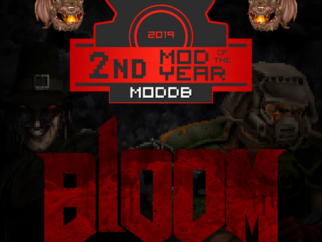 BlooM - 2nd Award - Best Mod of the year 2019