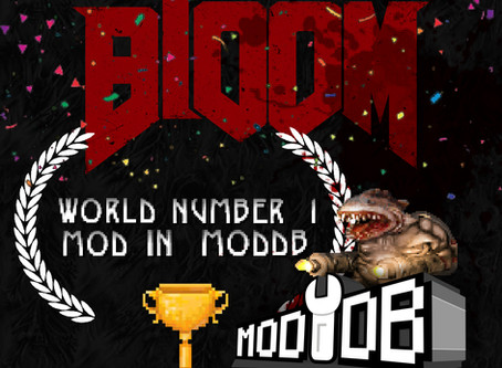 BlooM is Number 1 in ModDB