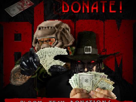 BlooM Team - Donations
