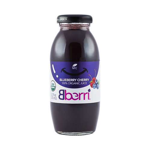 Blueberry & Cherry Juice (12 Bottles)