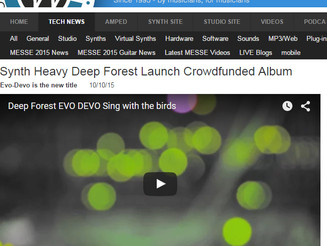 Nick Batt Sonicstate Deep Forest review