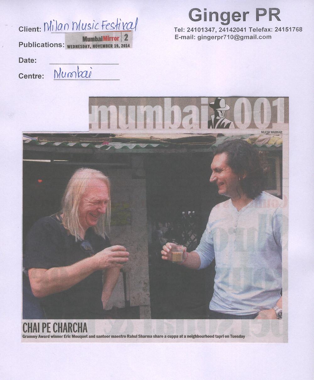 Mumbai Mirror- 19-11-2014 (Milan Music Festival).jpg