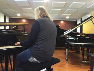Piano testing