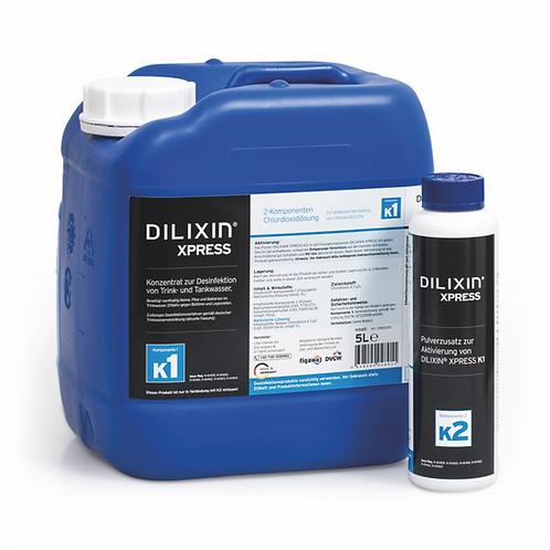 DILIXIN® XPRESS Desinfektion von Trinkwasser, Chlordioxid 0,3% (5000 ml)