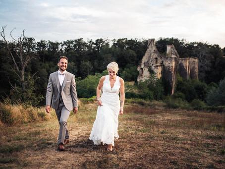 Mariage au Château de la Crête, en Auvergne. C&L