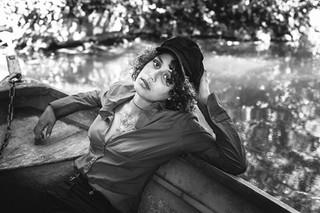 Photographe Paris Montmagny shooting portrait extérieur tiffany trabado m
