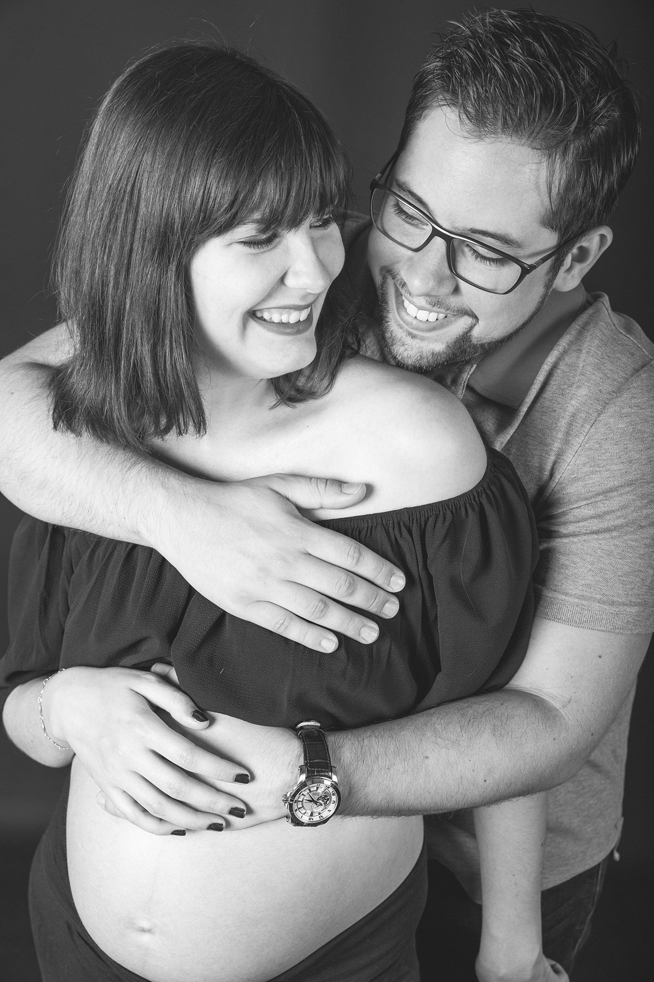 shooting couple grossesse val d'oise