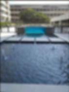 visores para piscinas, visor de piscina, janela para piscina