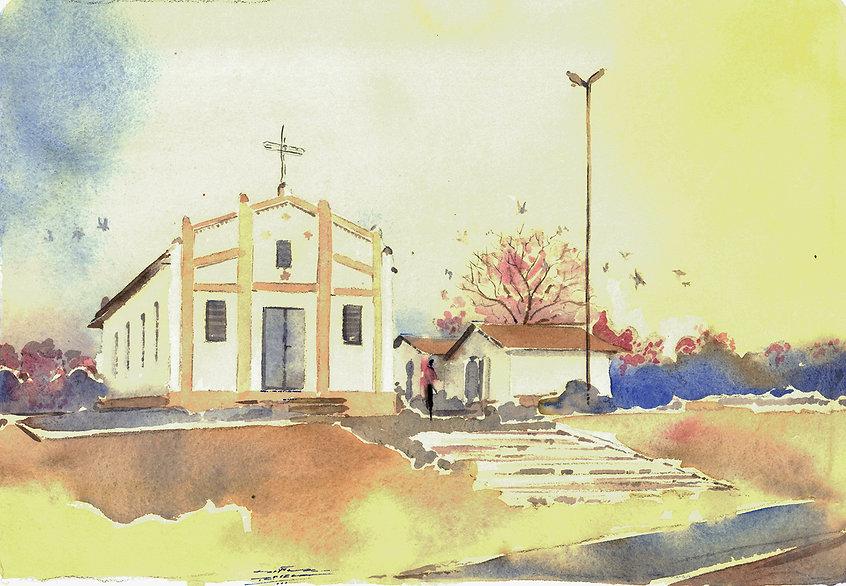 Igreja da Pratinha - Araçatuba, SP Brasil