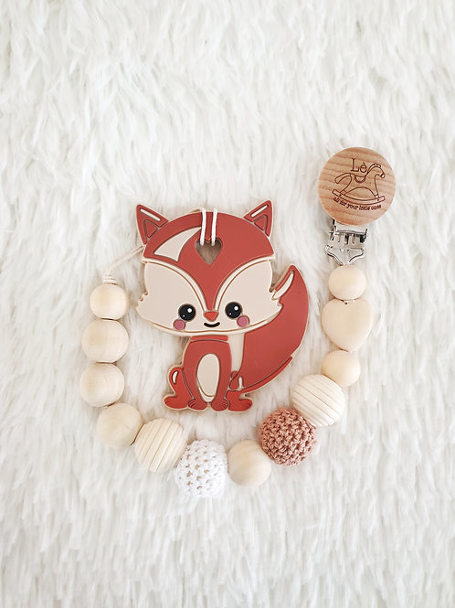 Squirrel baby teether
