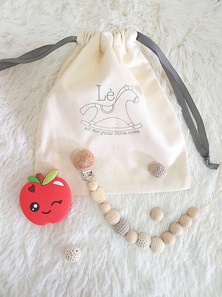 Baby Gift Set - Teething Starter Kit (Apple)
