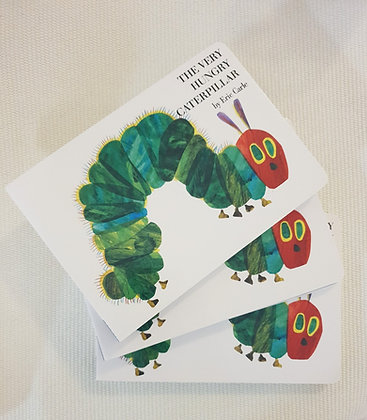 Books - The very hungry caterpillar