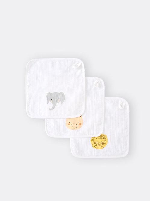 Baby Burp Cloth ( Set of 3 )