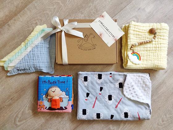 (Mini) Create your own- Blanket and Bath Set