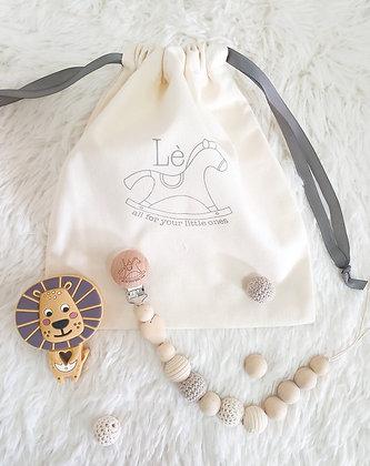 Baby Gift Set - Teething Starter Kit (Lion)